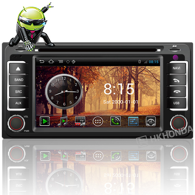 Car Android DVD WIFI 3G 20VCDC GPS TOYOTA RAV4 Corolla HILUX Matrix Prado Fortuner Camry Previa Free map +Free shipping