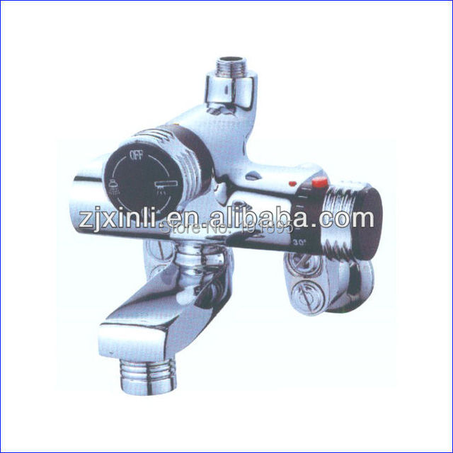 Retail - Luxury Brass Thermostatic Bathtub Mixer,  Wall Mounted, Free Shipping X9027BS