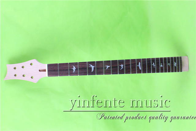 """25.5"""" unfinished  Electric guitar neck  rosewood  fingerboard fine quality  22 fret"""