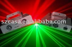 Double green+red 160mW laser light DMX dj light disco stage lighting