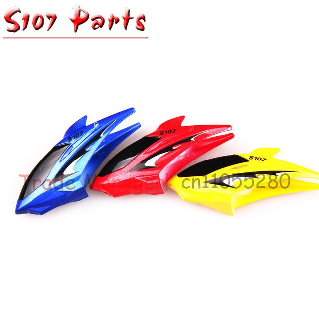 Cheap wholesale  3 pcs SYMA s107 rc helicopter Accessories Handpiece Head cover Head covers107-01 parts for s107g helicopter