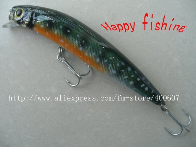 Bass Terminator  Minnow Plastic  Fishing Lure(M100F) Enjoy Retail Convenienc at Wholesale Price