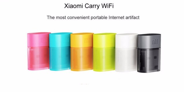 6Color Lot of 6pcs Xiaomi mi Smart Home Automation Portable Mini USB Wireless Router wifi 2.4GHz 150Mbps USB Internet Adapter