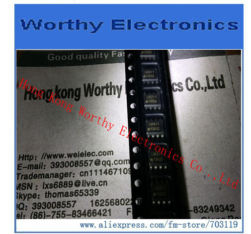 Free   shipping     10pcs/lot       LM311DR2G        LM311DR          LM311D         LM311      SOIC-8