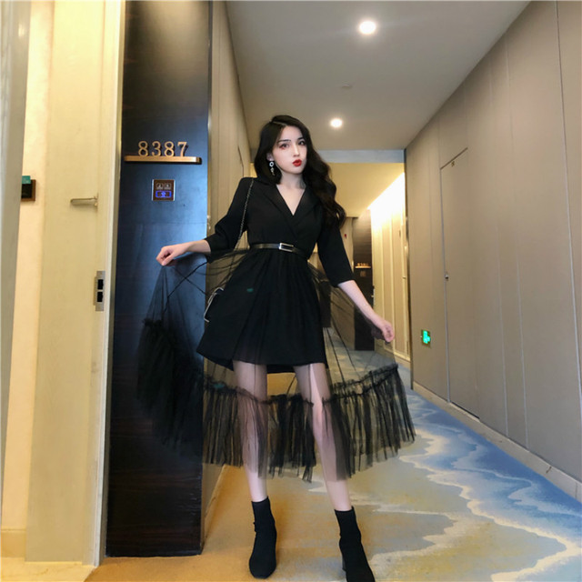Cheap wholesale 2019 new autumn winter Hot selling women's fashion casual sexy Dress BP10