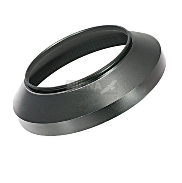 72mm Wide Angle Metal Lens Hood for Canon Nikon Olympus Dslr Camera Screw Mount
