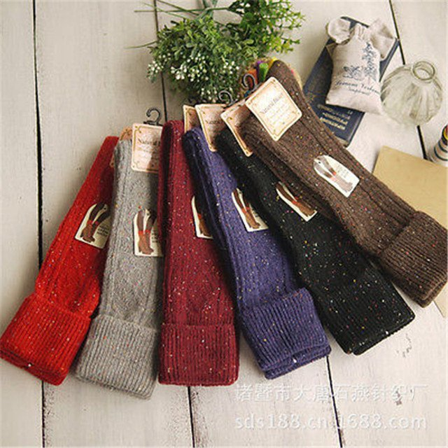 2017 New 6 Colors Fashion Women's Socks Sexy Warm Thigh Over The Knee Socks Long Cotton Stockings hot sale