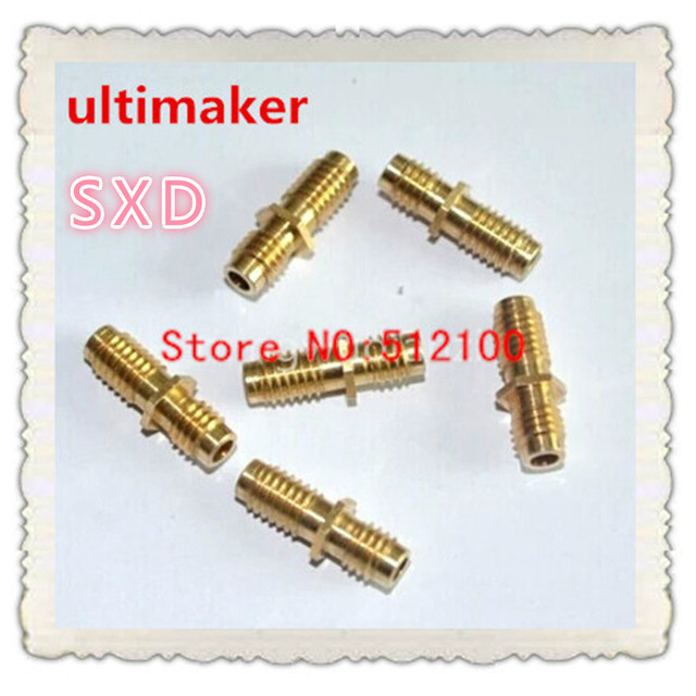 free shipping 20PCS  accessories throat ultimaker feed throat-M6X20 3D materials