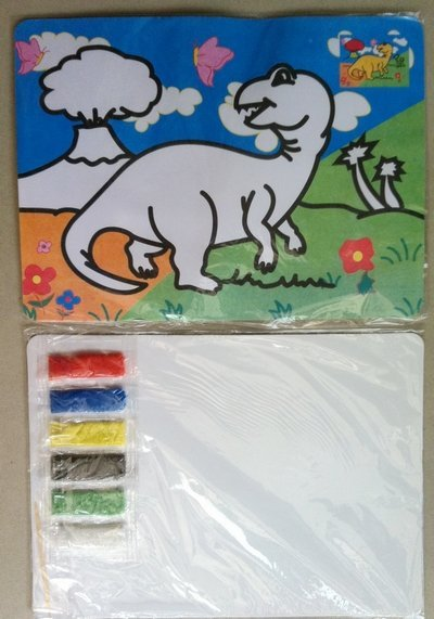 On sales DIY products color sand painting set for children 30pcs/lot diy toy