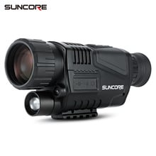 SUNCORE 5X40 Night Vision Monocular binoculars with 200M Infrared Camera Function 3.7V DC hunting Camera for Hunting Camping