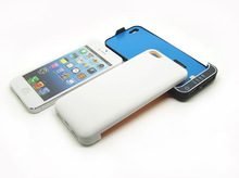 Best price 1pcs  Power Bank 2200mAh External Portable Backup Battery Pack Case Power Bank Charger for iPhone 5 5s