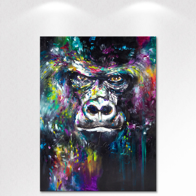Canvas Print Animal Oil Painting Wall Art Picture Printed on Canvas wall pictures for living room decorative pictures art2