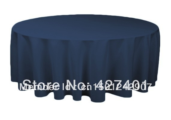 "Hot Sale 132 "" Teal Green  Round Table Cloth Polyester Plain Table Cover For Wedding Events &Party Decoration"