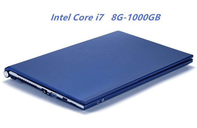 """8GB RAM 1000GB HDD Intel Core i7 CPU Laptop 15.6""""1920X1080P HD Win 7/10 Notebook PC Gaming Computer with DVD-RW For Office Home"""