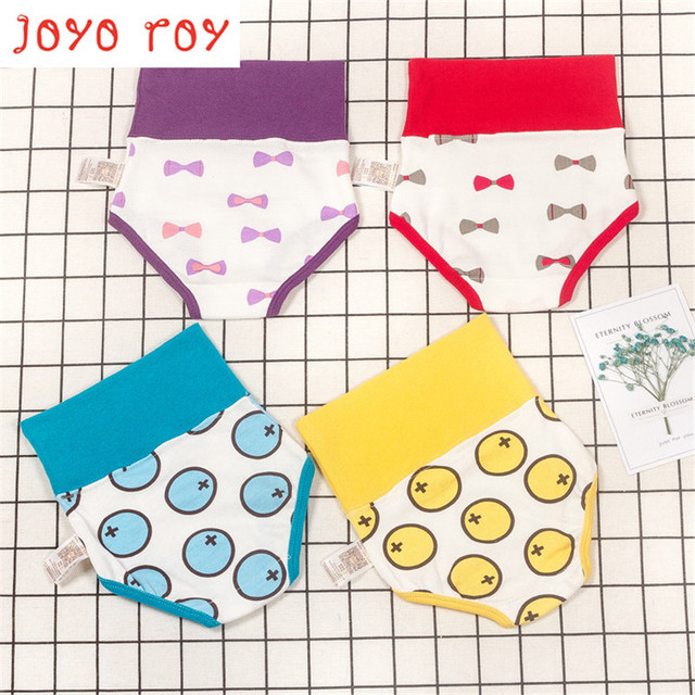 Joyo roy  New Learning To Pee Pants Baby Creative Urine Pants Baby Training Pants Cotton Children'S Cotton Cloth DiapersR
