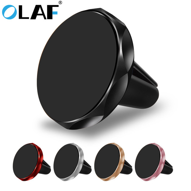 OLAF Car Phone holder magnetic car holder Mobile Phone Air Vent Stand For iPhone Samsung Xiaomi Universal GPS Support Magnet car