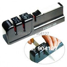 Free shipping New Professional Kitchen Knife Sharpener System Fix-angle Drop shipping