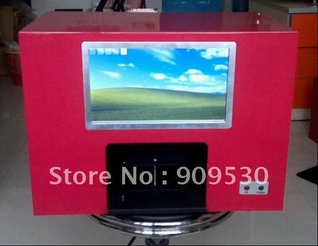 Touch screen PC nail printers,Rosespeak printer too,5finger nails one time printing,New Software arrival in 2011