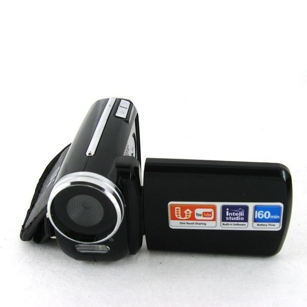 Best gift--12Mp max mini Digital Video Camera with 4 x digital zoom and 1.8 inch screen, alkaline battery, free shipping