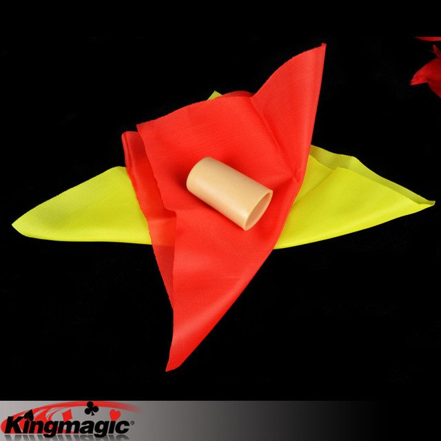 Chameleon Silk Change Color Free Shipping King Magic Tricks Props Toys Email Video To You