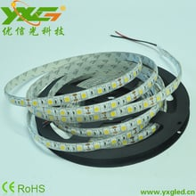 High quality Christmas 12V led strip warm white 5050 waterproof 5m 300 leds IP65 wholesale Free shipping