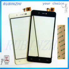 RUBINZHI Phone Touchscreen Sensor For Cubot R9 Touch Screen Front Glass Touch Panel Digitizer Parts +tape
