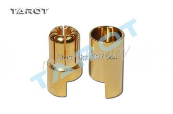 Tarot 6MM Banana Plug 180A/ 60A 7u Gold  plated connector TL2890 rc tools free shipping with tracking