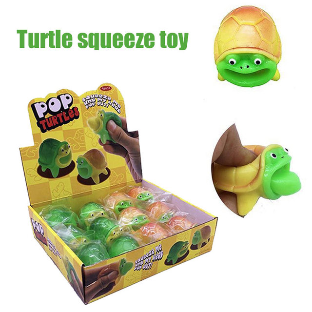 Squishy Toys Multicolor Funny Squishi April Fool'S Day Turtle Squeezing Toy Juguetes squishy squeeze Squishy small