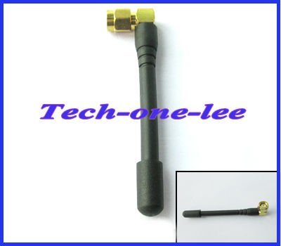 SMA Male Right Angle connecot GSM GPRS 900/1800MHz Antenna 7 cm free shipping