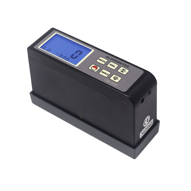 Degree Digital Glossmeter GM-268 Surface Cleaning Gloss Meter Tester Vancometer 0.1-200Gu RS - 232 cable output
