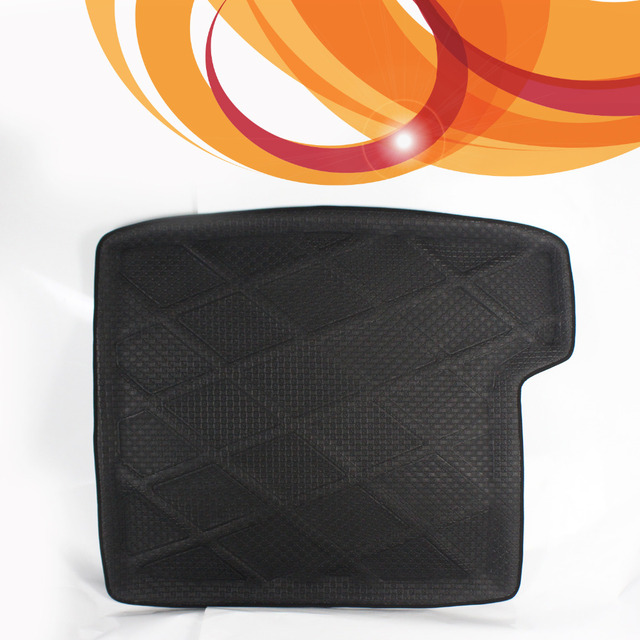 3D Black Waterproof All Weather For BMW For X1 Before 2010-2014 Rear Car Auto Truck Cargo Mat Tray Liner