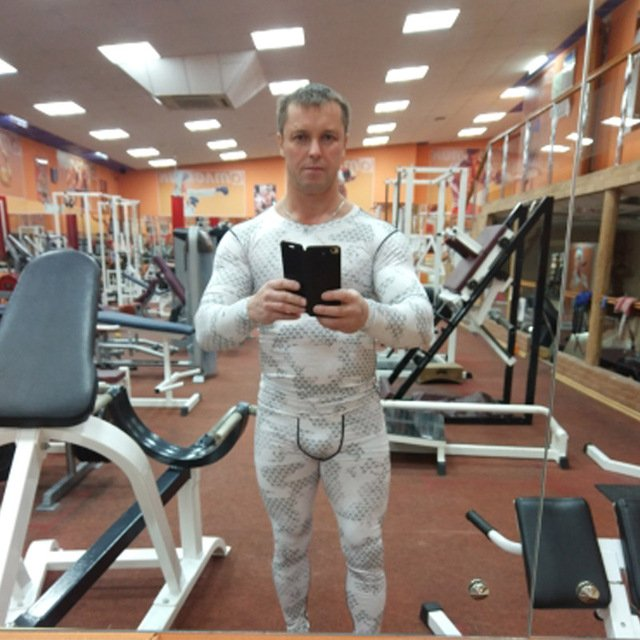 Men's Fitness Thermal Underwear Set Compression Tights Gym Training Clothing Hot Underwear Men Quick-drying Running Suit 3XL