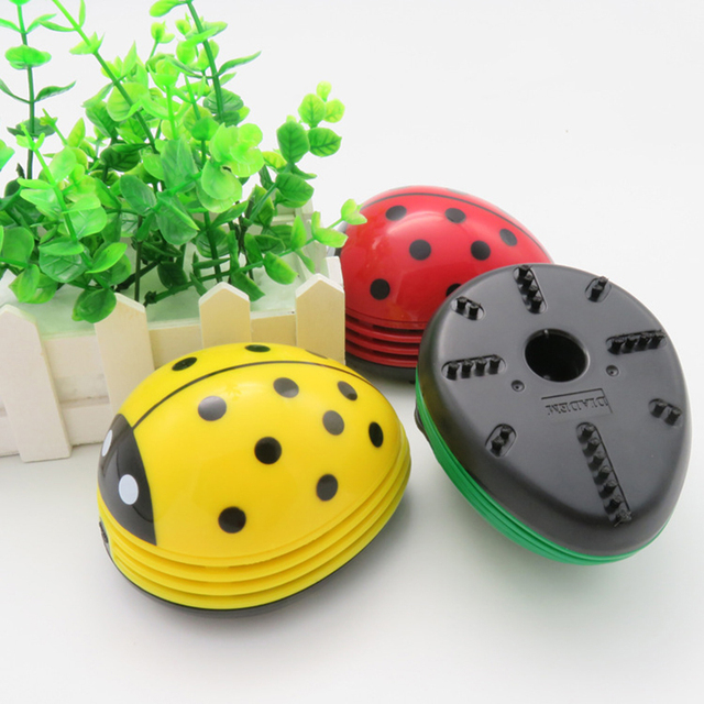 Beetle Mini Wireless Robot Vacuum Cleaner Office Handheld Computer Keyboard Cleaner 3 Colors