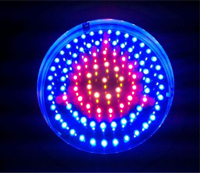 Grow Lights Tri-band red and blue and orange 630nm 460nm 610nm 90W for Growing Tent led-lamps-for-plants 3 Years Warranty