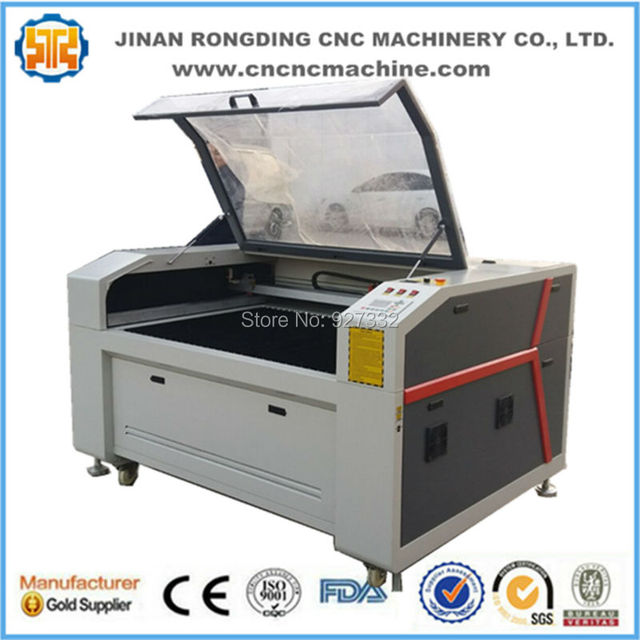 Hot sale plywood laser cutting machine with 100w 130w 150w CO2 laser tube