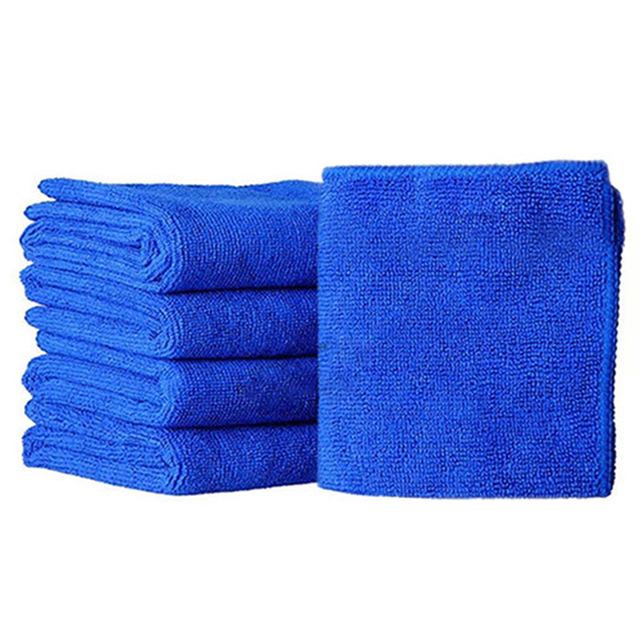 DHBH-Auto Care 10PCS Ultra Soft Microfiber Towel Car Washing Cloth for Car Polish& Wax Car Care Styling Cleaning Microfibre30x