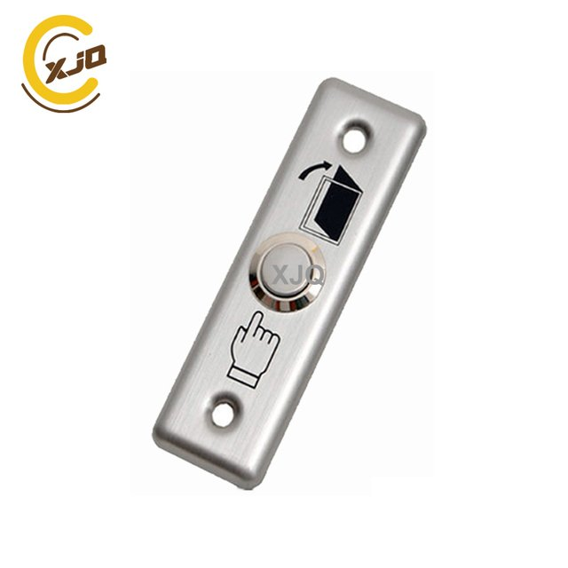 XJQ Push button Stainless Steel door exit  button for access control GB-801A Release button for door access system