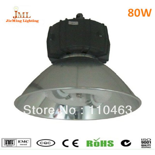 High bay industrial lighting 80W induction lamp 6400lm Factor lamps induction high bay lights Outdoor Induction Wall Lamps 220V