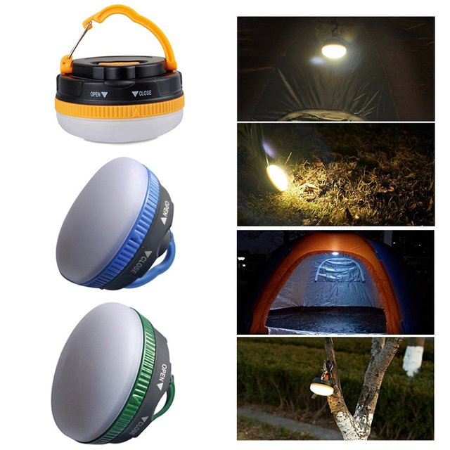 Tent Light LED Lantern Super Bright Camping lamp Flood Light Work Portable Lantern Drop Shipping Indoor/outdoor lighting