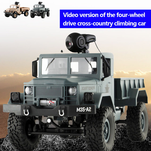 Rc truck Video RC Vehicle WIFI Control Video RC Racing Durable Drift Remote truck Kids Toys Camera Off-Road Kids toys