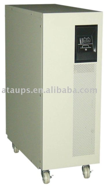 10KVA / 7KW High Frequency Online Santak UPS technology  Long Backup time type