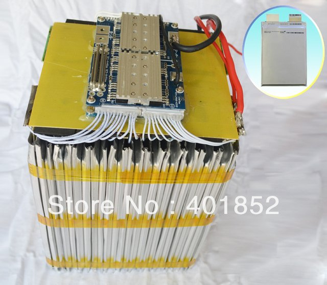 free shipping A123 3.2V20AH,30S1P(1800Wh) lifepo4 90V20AH(A123 system) battery pack for Scooter