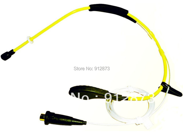 WP-20 Waterproof Headworn Microphone for Fitness Instructors Teaching and Speaking with Kinds Connectors