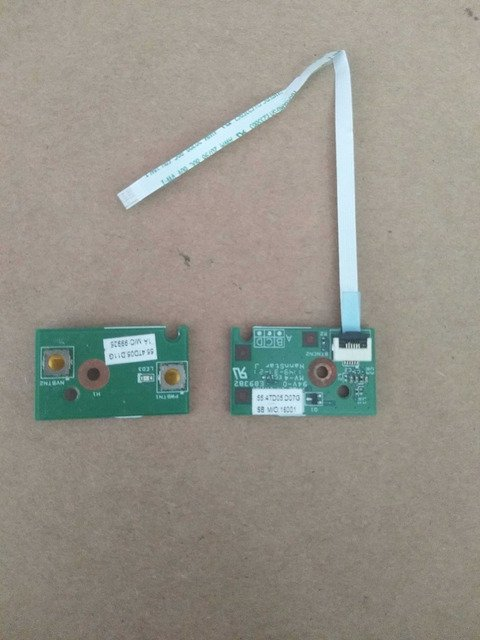 WZSM Power Switch ON OFF Button Board with cable for Lenovo B480 B490 M490 M495 B4306