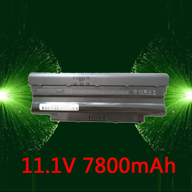 HSW 7800mAh J1KND Battery For DELL Inspiron 13R 15R 17R N3010 N3110 N4010 N5010 N7010 N5110 N7110 N5030 M411R M501R N4050 M501R