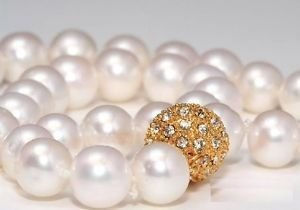 Huge! Jewellery AAA +16 mm south sea shell pearl necklace. White Wonderful Nobility Fine Wedding Jewelry Lucky Women's