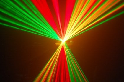 Single head RGY disco  laser beam light show projector