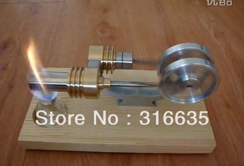 Hot Air Stirling Engine Motor Generator Education Toy Kits Electricity M12-01-S