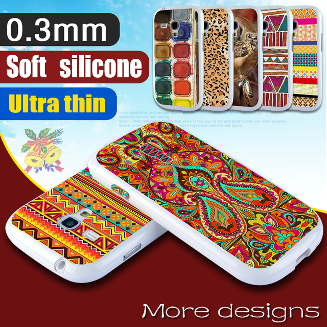 Case For Samsung Galaxy S3 mini Soft Cover For Samsung S3 mini Case I8190 Hot For Galaxy s3 mini Case White Phone Accessories