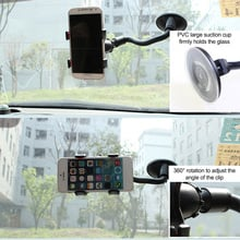 Car Phone Holder Windshield Bracket Mount Stant Dashboard Universal 360 Degree Rotatable Phone Holder Clip for iPhone 6 GPS